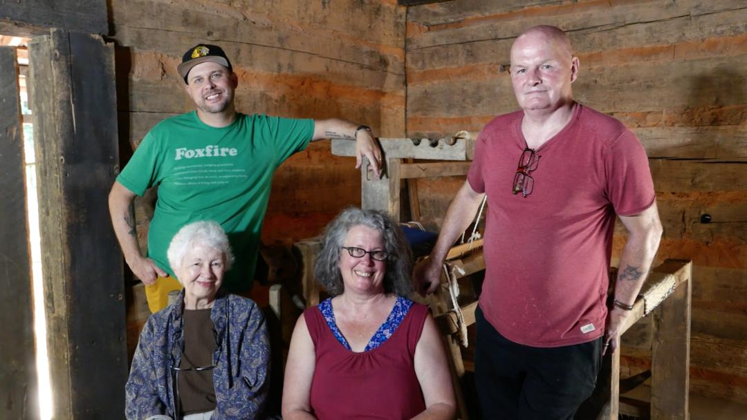 Foxfire Films | The Rocker Beater Loom